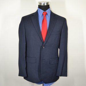 Pronto Uomo 38S Sport Coat Blazer Suit Jacket Navy